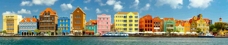 Vakantie naar Curacao? Dit is de bekende 'skyline' van Willemstad
